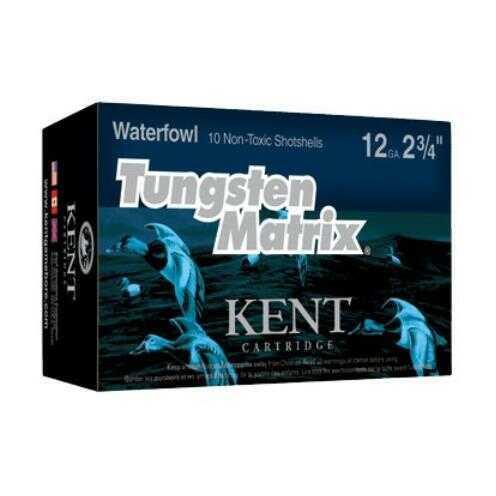Kent Cartridges Kent Ammo 12Ga. 3In 1 1/4oz. #5 Tungsten Matrix (10 rounds Per Box)