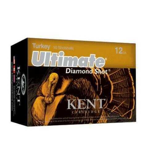 Kent Cartridges Kent Ultimate Diamond Shot Turkey 3'' Shotshells #4 (10 rounds Per Box)