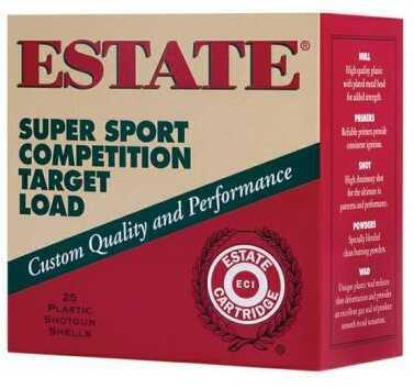 Federal Cartridge Estate Super Sport 12Ga 2.75'' 1Oz #9 25/Box Ammo