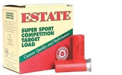 Federal Cartridge Estate Super Sport 12Ga 2.75'' 1-1/8Oz #9 25/Bx (25 rounds Per Box)