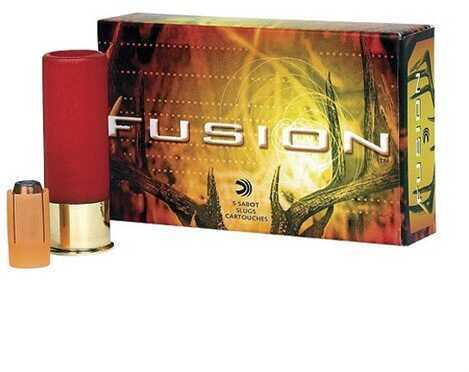 Federal Cartridge Federal Fusion 12Ga 2.75'' 3/4Oz Sabot Slug 5/Bx (5 rounds Per Box)