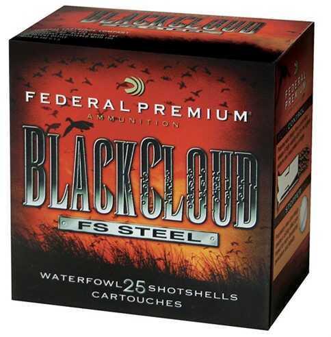 "Federal Cartridge 12 Gauge Shotshells Black Cloud, 12ga 2.75"" #4 (Per 25) PWB1464"
