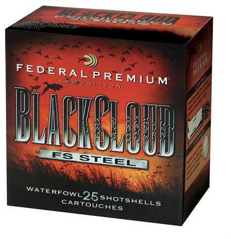"""Federal Cartridge 20 Gauge Shotshells Black Cloud, 3"""" #4 (Per 25) PWB2094"""