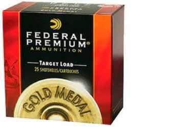 Federal Cartridge Federal Gold Medal Plastic 12Ga 2.75'' 1-1/8Oz #7.5 25/Bx