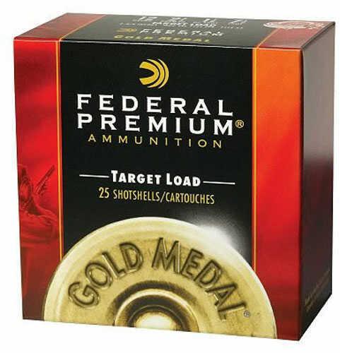Federal Cartridge Federal Gold Medal Plastic 410 2.5'' 1/2oz #8.5 25/Bx