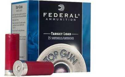 Federal Cartridge Federal Top Gun 12 Ga 2.75'' 1Oz #7.5 25/Bx