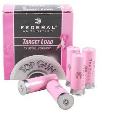 Federal Cartridge Federal Ammo 12Ga. Top Gun Shotshells Pink 2 3/4In 1 1/8oz #8 Shot
