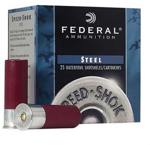 """Federal Cartridge 12 Gauge Speed Shok Speed Shok, 12ga, 3"""", 1-1/4oz, BB, (Per 25) WF140BB"""