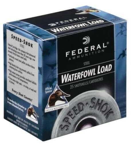 Federal Cartridge Federal Speed Shok Heavy HV Steel 12Ga 3'' 1-1/4Oz #T 25/Bx