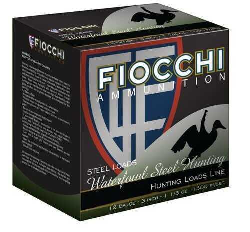 Fiocchi Ammo Fiocchi 123St Speed Steel 12Ga 3In Max 1 1/8 Ounce Shot - 2