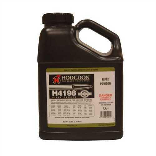 Hodgdon Powder H4198 Smokeless 8 Lb