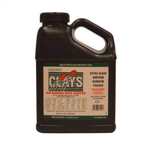 Hodgdon Powder Clays Smokeless 4 Lb