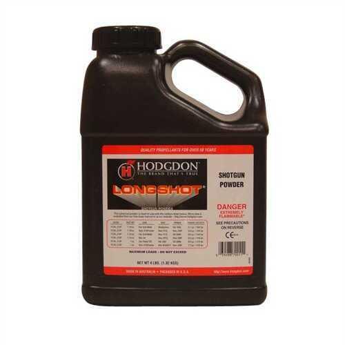 Hodgdon Powder Long Shot 4Lb Smokeless