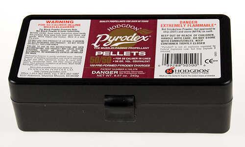 Hodgdon Pyrodex Pellets 50 Caliber 50 Grains .54 Lbs