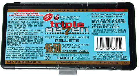 Hodgdon Triple 7 Pellet 45Cal 50Gr