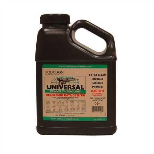 Hodgdon Powder Clays Univ Smokeless 4 Lb