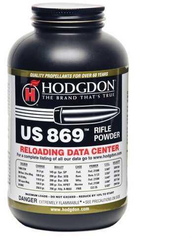 Hodgdon Powder US869 Smokeless 1 Lb.