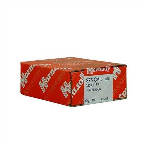 Hornady 375 Caliber Bullets 220 Grains FP (Per 100) 3705