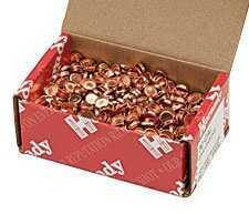 Hornady 25 Cal Gas Checks, 1000 Per Box Md: 7030
