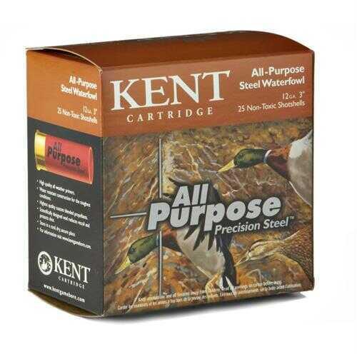 Kent Cartridges Kent Ammo All Purpose Steel 20Ga.3In 7/8 Oz.#4b (25 rounds Per Box)