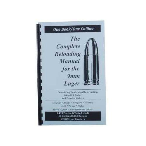 Loadbooks USA Loadbooks Reloading Manual For 9mm Luger