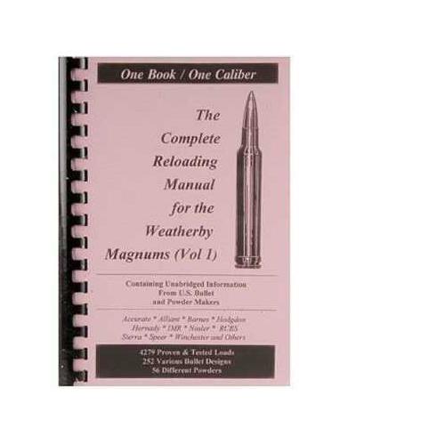 Loadbooks USA Loadbooks Weatherby Magnum Volume 1 Each