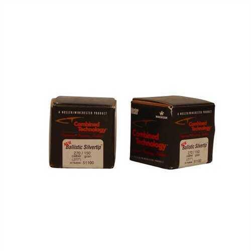 Nosler 270 Caliber 150 Gr Spitzer Ballistic ST (Per 50) 51100