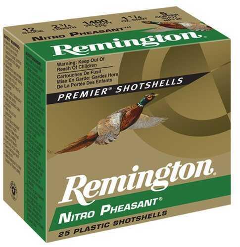 Remington Nitro Pheasant 12Ga 3'' 1-5/8Oz #4 25/Bx