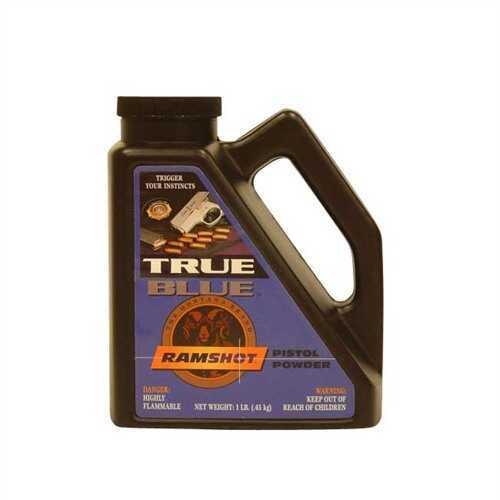 Western Powders Ramshot True Blue Pwdr 1Lb Pistol Ex#9903364