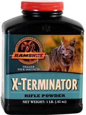 Western Powders Ramshot X-Terminator Pwdr 1 Lb