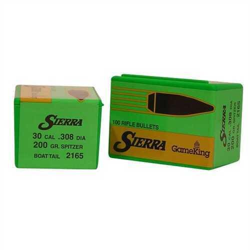 Sierra 30 Caliber 200 Gr SBT (Per 100) 2165