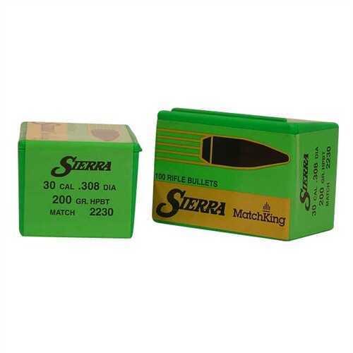 Sierra 30 Caliber 200 Gr HPBT Match (Per 100) 2230