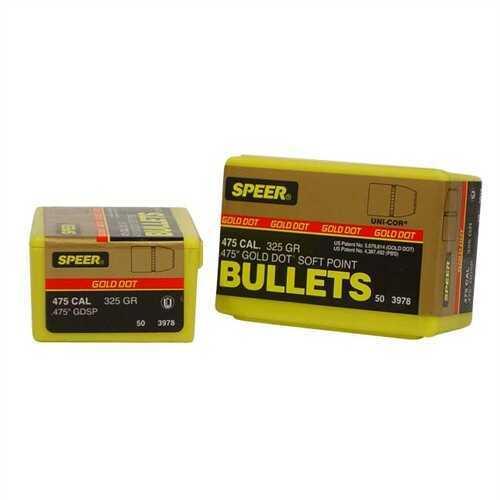 Speer 475 Caliber 325 Gr GDSP (Per 50) 3978