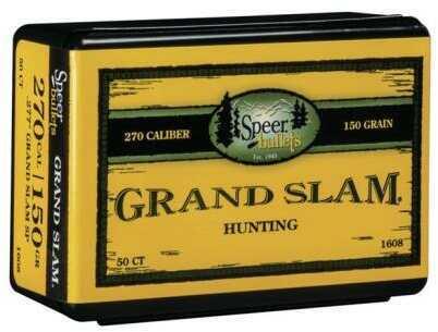 Speer 270 Caliber 150 Gr SP Grand Slam (Per 50) 1608