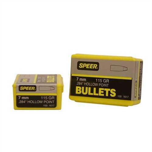 Speer Bullets, 7mm 115gr HP - Brand New In Package