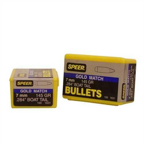 Speer 7mm 145 Gr Match HP BT (Per 100) 1631
