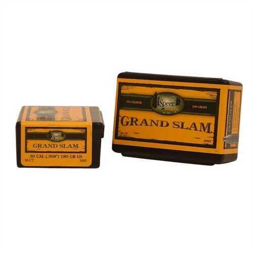 Speer 30 Caliber 180 Gr SP Grand Slam SP (Per 50) 2063