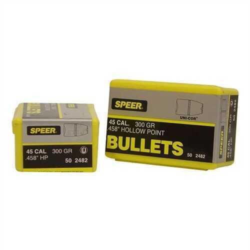 Speer 45 Caliber 300 Gr GD HP (Per 50) 2482