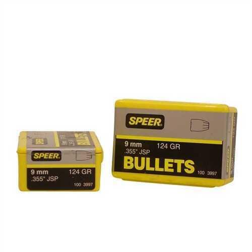 Speer Bullets, 9mm 124gr JSP - Brand New In Package