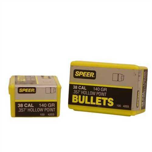 Speer 38/357 Caliber (Per 100) 140 Gr JHP 4203