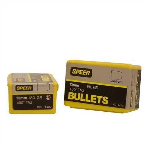 Speer 10mm (Per 100) 180 Gr TMJ 4402