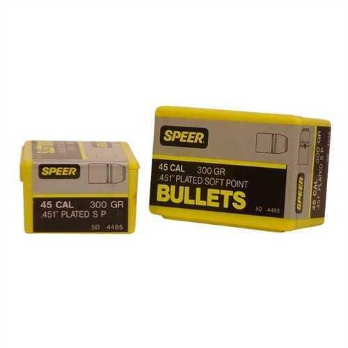 Speer 45 Caliber 300 Gr SP (Per 50) 4485