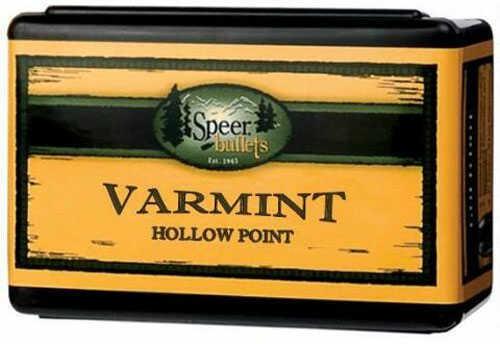 "CCI Speer .22 Caliber .224"" Diameter 52 Grain Varmint Hollow Point Bullet 1000 Count 4708"