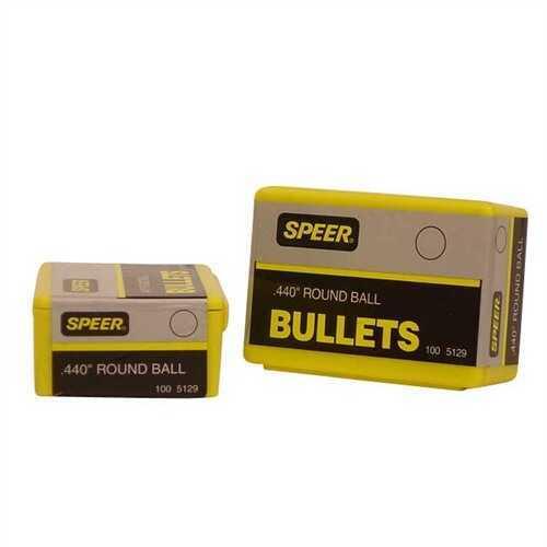Speer Lead Round Balls .440 128 Gr (Per 100) 5129