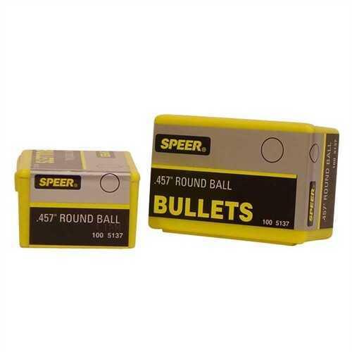 Speer Lead Round Balls .457 144 Gr (Per 100) 5137