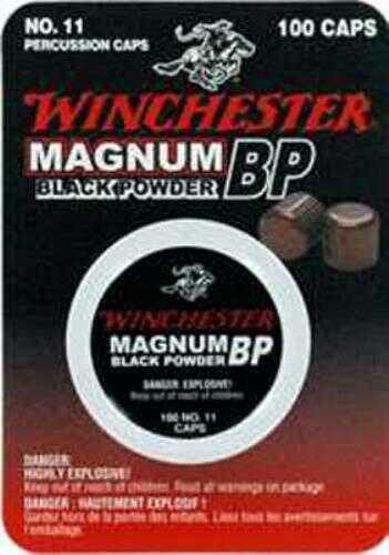 Winchester #11 Magnum Black Powder Percussion Cap 100
