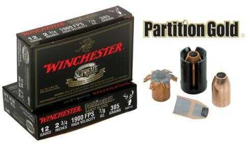 Winchester Slug 12Ga 3 Hi-Impact BRI (5 rounds Per Box) Ammo