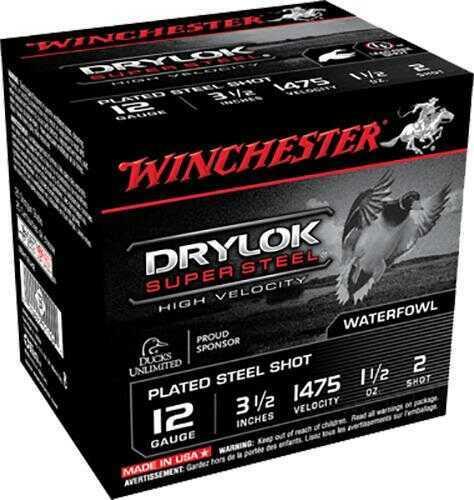 Winchester 12Ga 3.5In Steel MAX d 1-3/8Oz #Bbb (25 rounds Per Box)