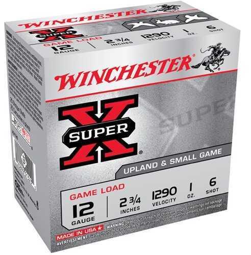 "Winchester 12 Gauge 12 Gauge, 2 3/4"" 1oz 6 Shot (Per 25) XU126"