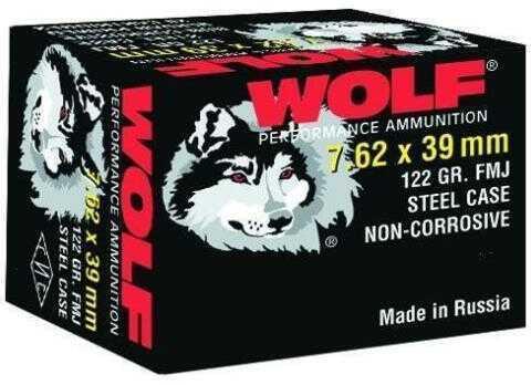 Wolf Performance Ammo Wolf Ammo 7.62x39 mm 123Gr FMJ 20/Bx